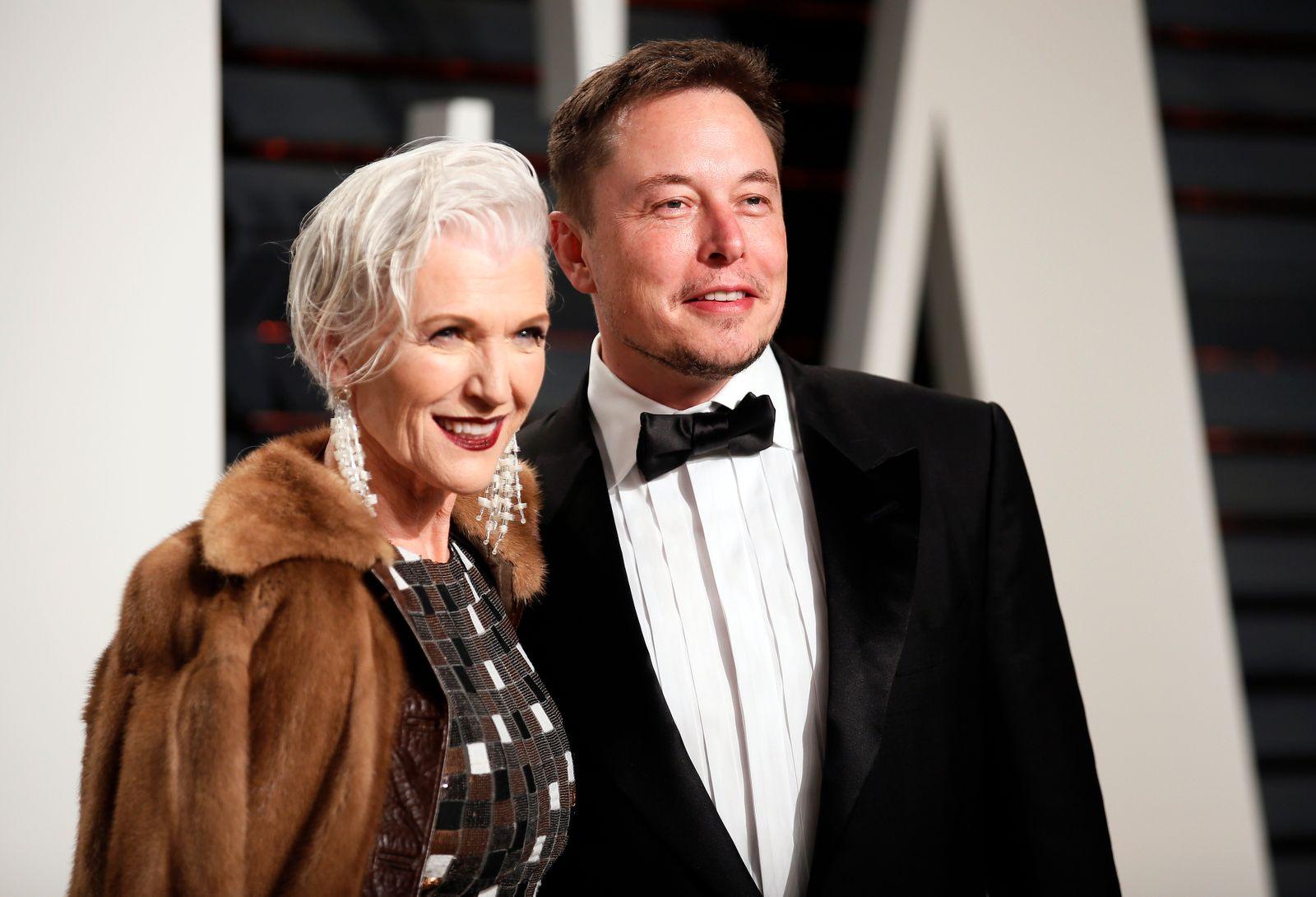 Maye Musk / Elon Musk
