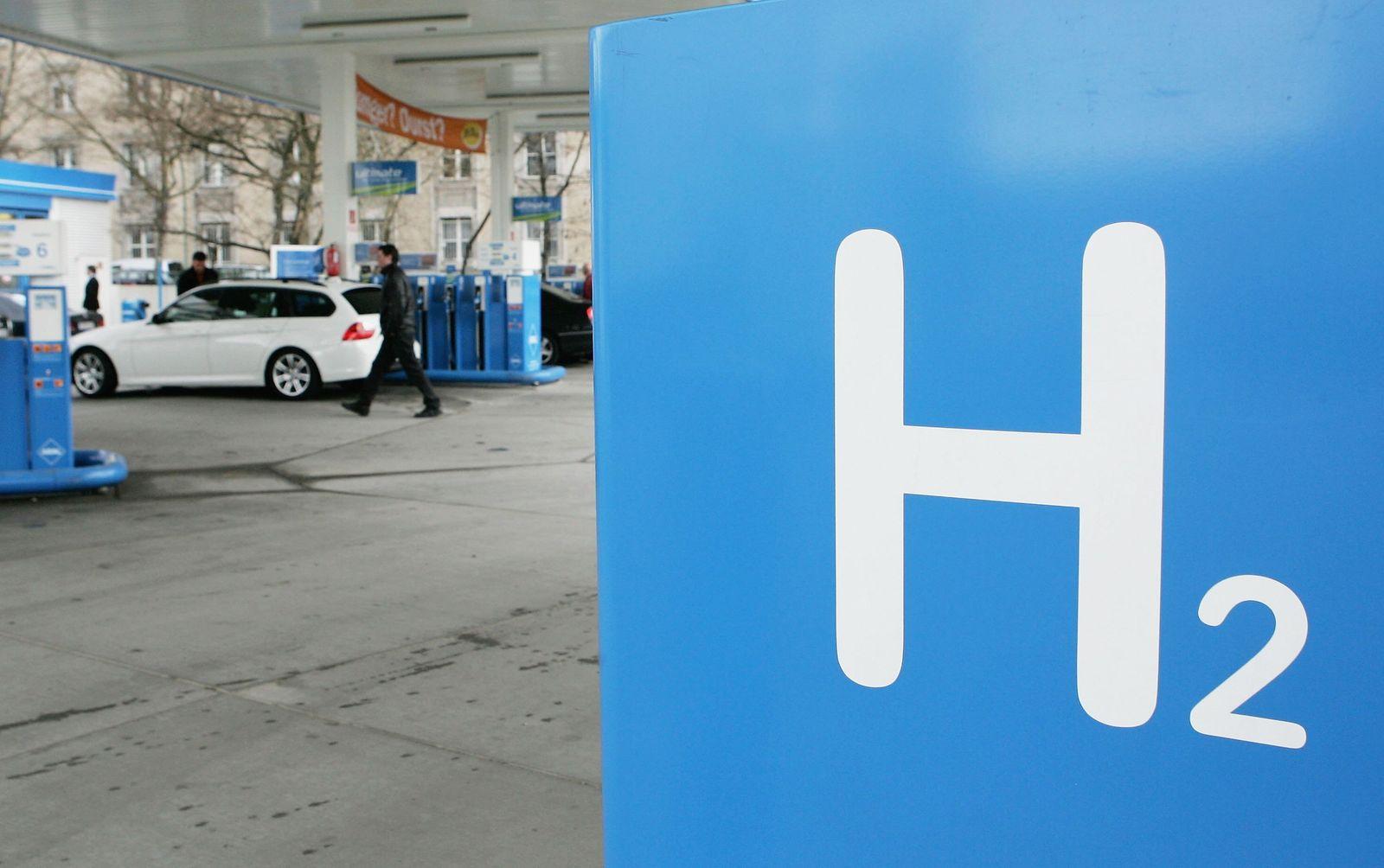 Wasserstoff/ Tankstelle