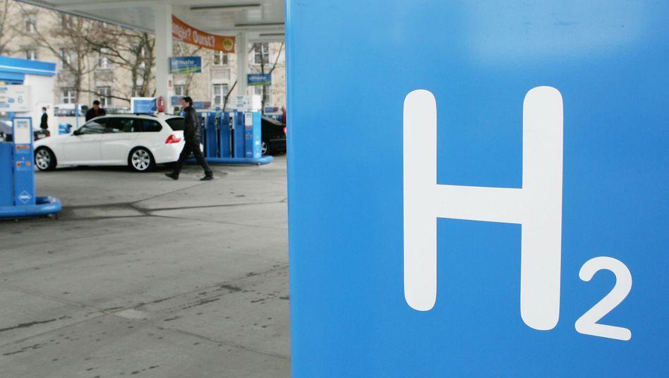 Wasserstoff-Tankstelle von Linde: Geschäft in Schwellenländern stimmt den Gasespezialisten optimistisch