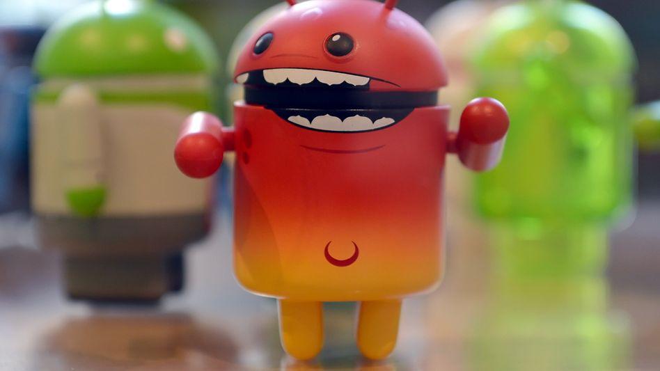 Der kleine Teufel auf Ihrem Handy: Android-Männchen von Google
