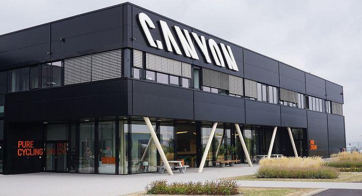 Angreifer: Gebäude von Canyon Bicycles in Koblenz