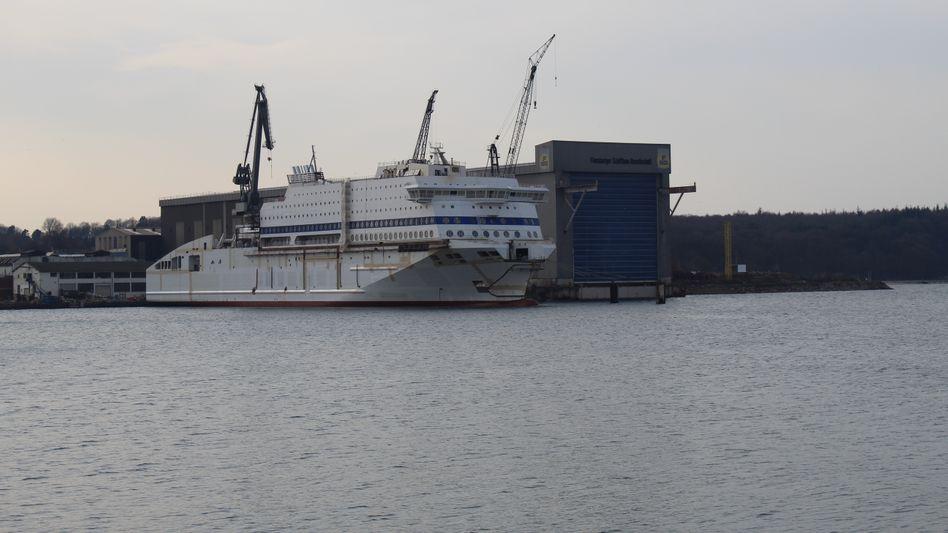 """""""Honfleur"""" in Flensburg (Archivbild von April 2019)"""