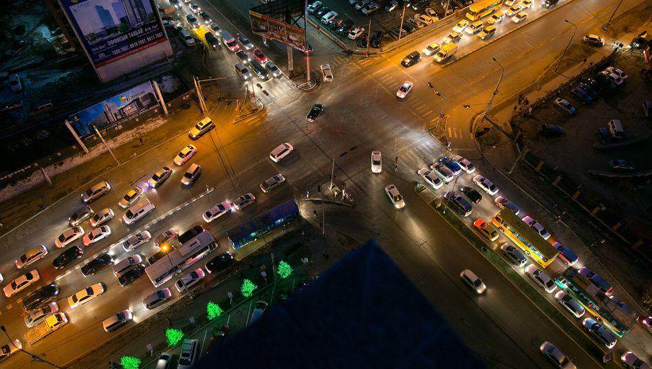 "Straßenkreuzuung in China: ""Hohe strategische Bedeutung"""