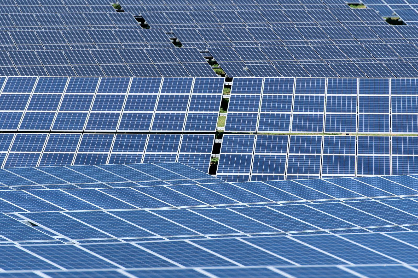 Solaranlage. Symbolbild