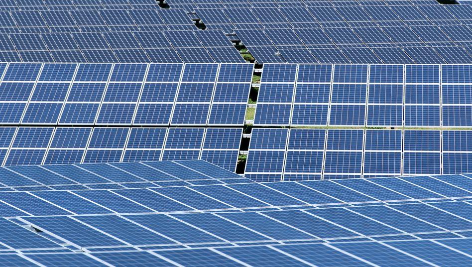 Solarmodule in Bayern