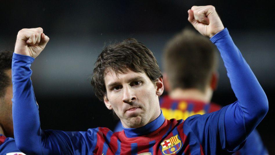 Rekord: Barcelonas Starkicker Messi traf diese Saison schon 68 mal