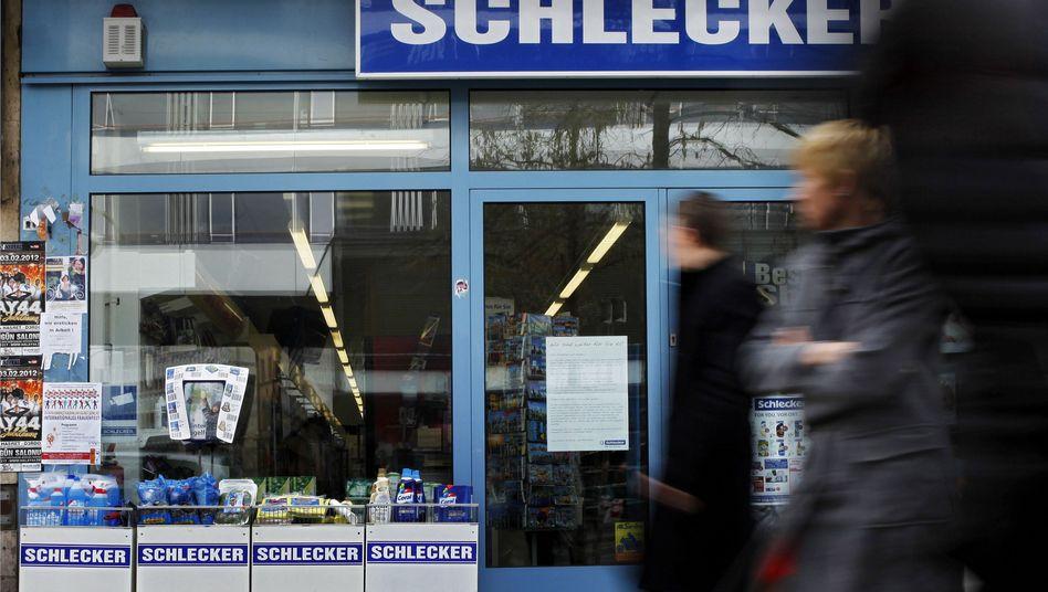 Schlecker-Filiale in Frankfurt am Main: Viele Länder zögern noch