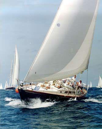 """Die 16,15 m lange """"Nani"""", eine Little Harbor 53 von Jochen Claussen aus Hamburg"""