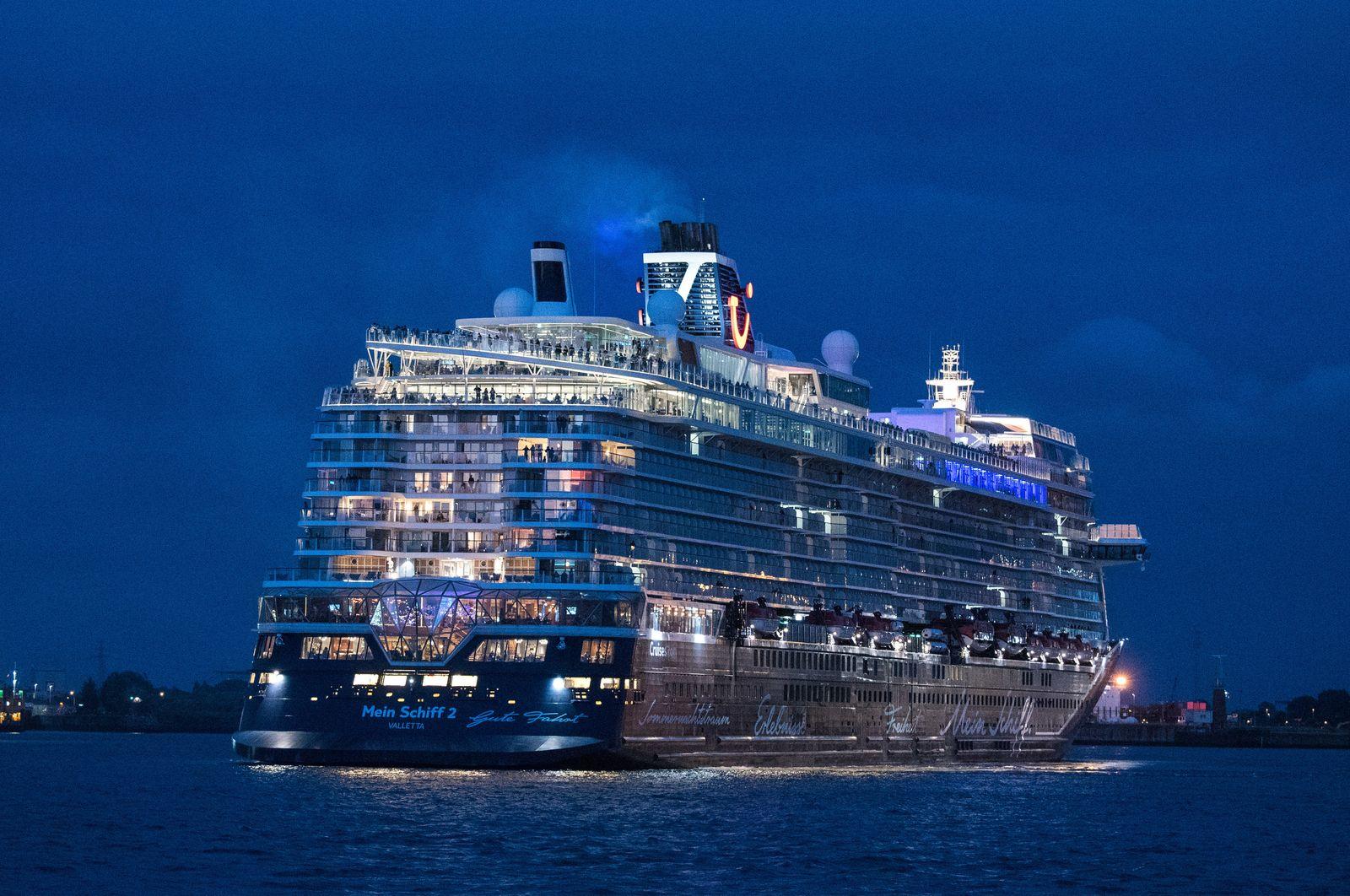 Erste Tui-Kreuzfahrt seit Corona gestartet