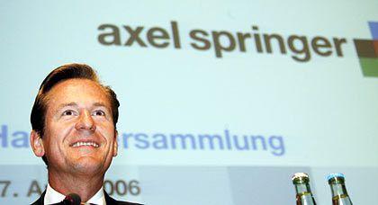 Vertrauter der Verlagschefin: Axel-Springer-Chef Döpfner