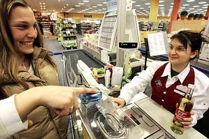 Portemonnaie vergessen? Kein Problem - Fingerabdruck genügt