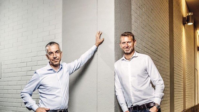 Euro-Fighter: Paolo Cerruti (l.) und Peter Carlsson haben ihr Geschäft bei Tesla gelernt