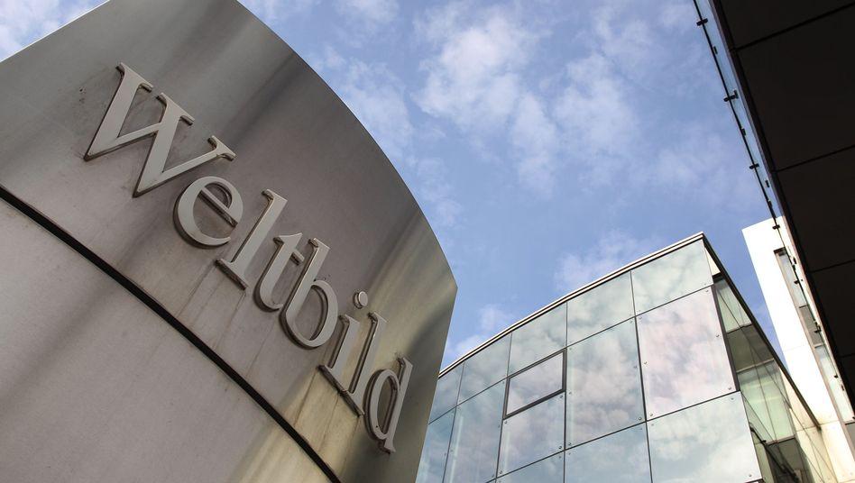 Zentrale des Weltbild-Verlags in Augsburg: Sämtliche Unternehmensteile werden auf das neue Unternehmen übertragen