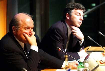 Fifa-Präsident Blatter, Michel Zen-Ruffinen: Tiefes Zerwürfnis