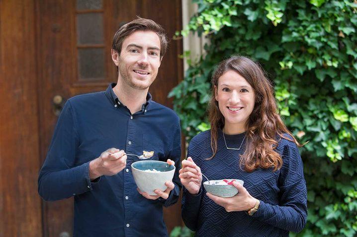3Bears-Gründer Tim Nichols und Caroline Steingruber