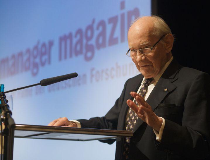 Hall of Fame der deutschen Forschung am 29.09.2010 - Rede Prof. Manfred Eigen