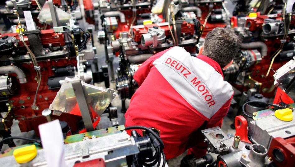 Unter der Krise der Fahrzeugindustrie leidet auch der Motorenhersteller Deutz
