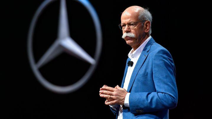 Diesel-Krise, Elektro, China: Die Baustellen des neuen Daimler-Chefs Källenius