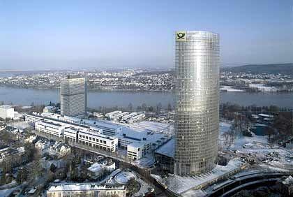 Wer muss wieder ausziehen? Der Post-Tower in Bonn wurde gerade erst bezogen
