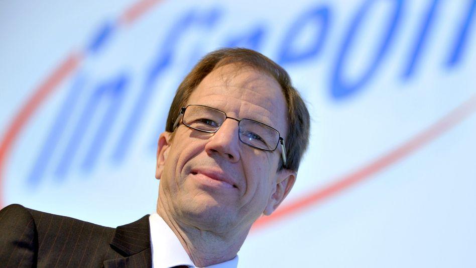 Infineon-Chef Ploss: Die genauen Zahlen wird er bei der Bilanz-Pressekonferenz am 27. November vorstellen