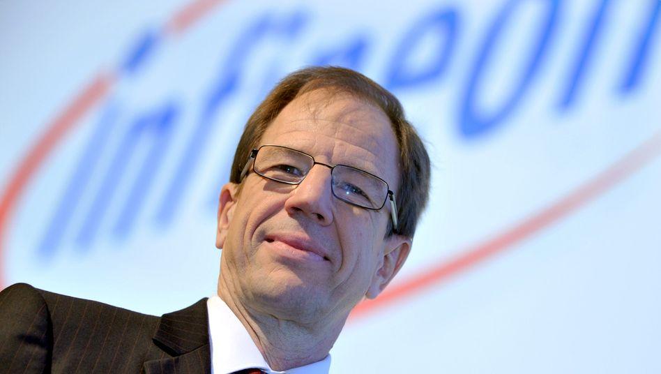 "Infineon-Chef Ploss: ""Wir haben die Situation bislang gut bewältigt"""