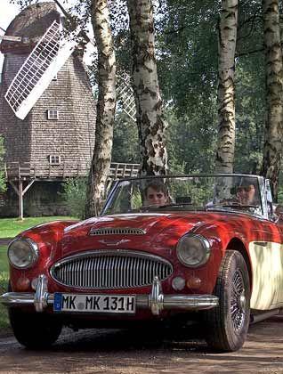 Prachtstück: Wagen wie dieser Austin Healey MK 3 aus dem Jahr 1964 lassen die Herzen von Oldtimerfans höher schlagen