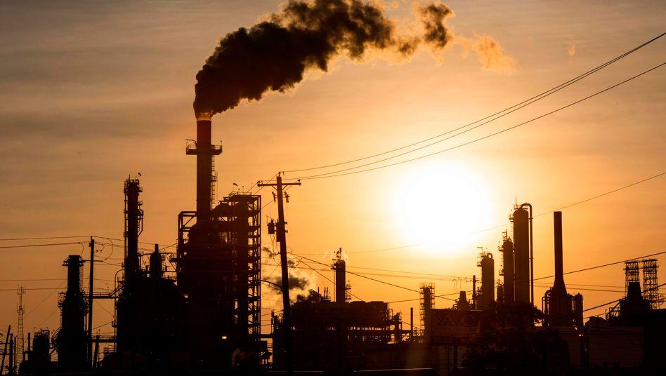 Ölförderung in Houston, Texas: Die Kürzung der Fördermenge ist wirkungslos verpufft
