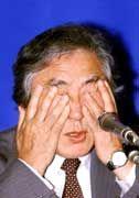 Geht er oder geht er nicht? NTT-Präsident Junichiro Miyazu