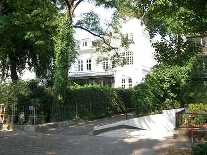 Standesgemäß: Falk-Villa in Hamburg-Pöseldorf