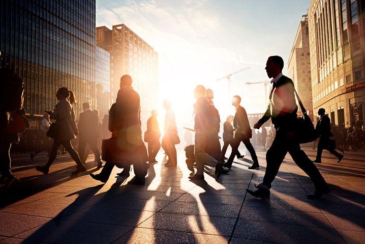 Menschen im Berufsleben: Der Weg nach oben ist nicht mehr der, der er einmal war