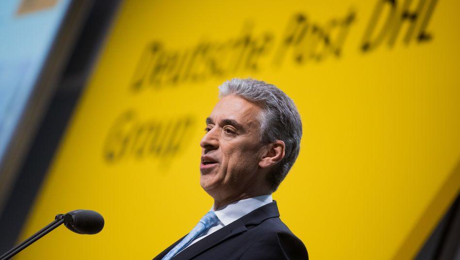 """Deutsche-Post-Chef Appel: """"Wir sind zuversichtlich"""""""
