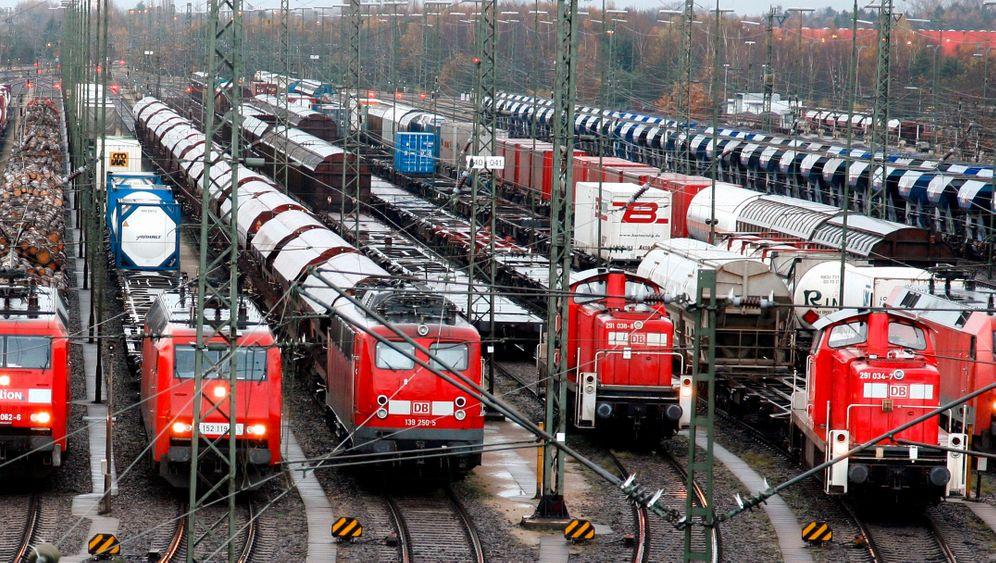 Verstopftes Netz: Wie das Wachstum der Güterbahnen behindert wird