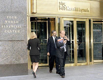 Zentrum der Macht: Merrill-Lynch-Haupthaus in New York