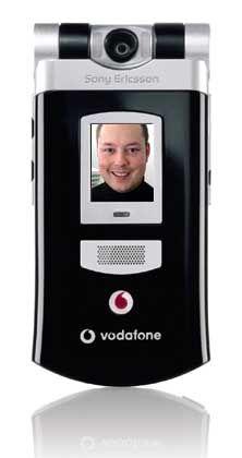UMTS-Handy: Sony Ericsson V800