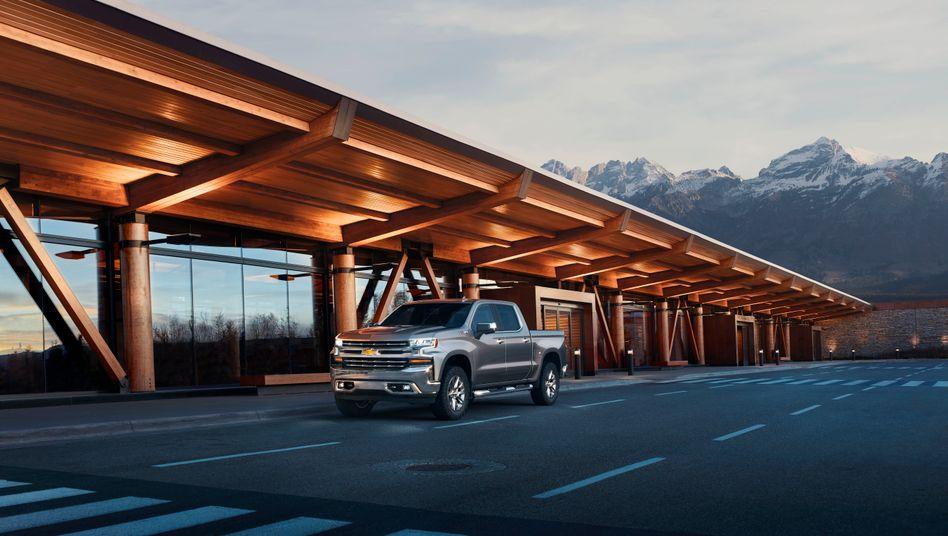 Einer der Bestseller unter den US-Spritschluckern: Chevrolets Pickup-Truck Silverado