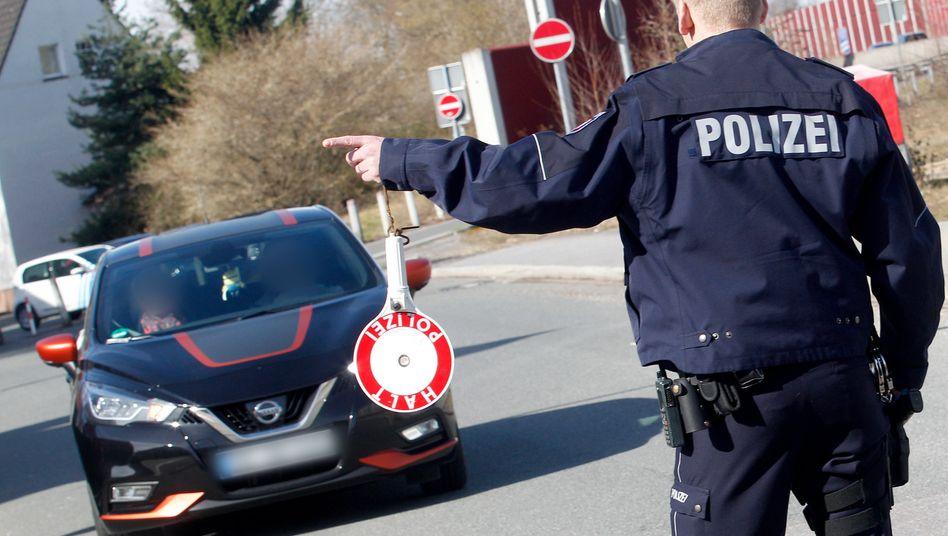 Polizist in Nordrhein-Westfalen