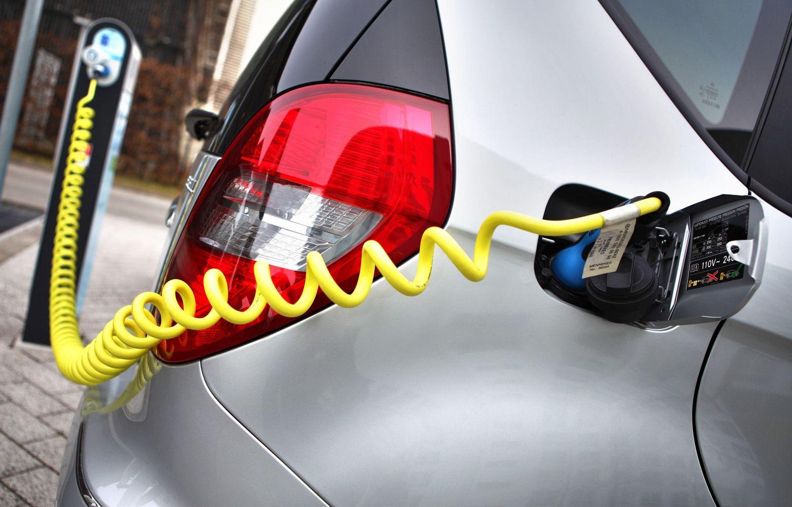 Ladestation Elektroauto / Symbol