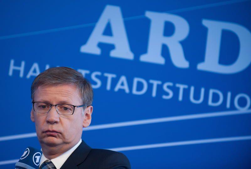 NICHT VERWENDEN Günther Jauch / ARD Hauptstudio