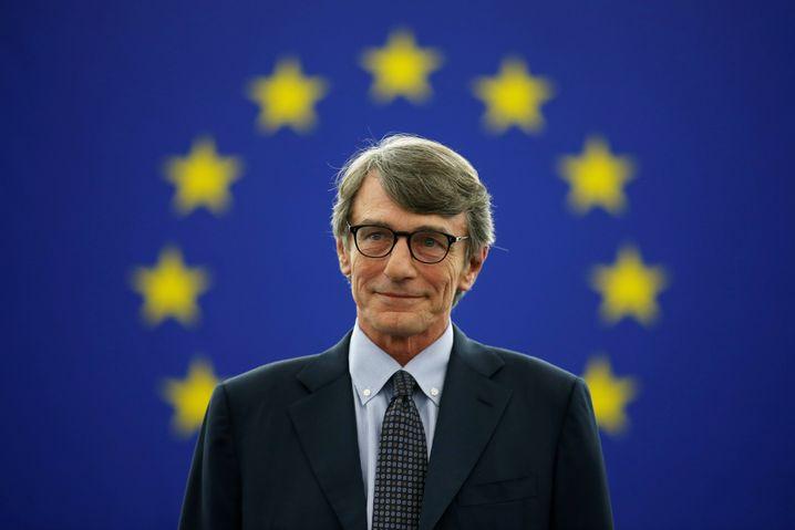 David Sassoli: Neuer Präsident des EU-Parlaments