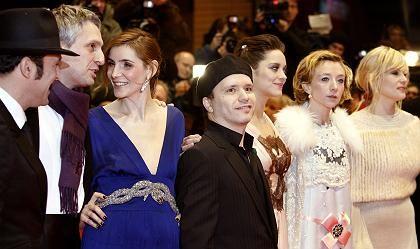 Eröffnung: Die Hauptdarsteller Films 'La vie en rose'