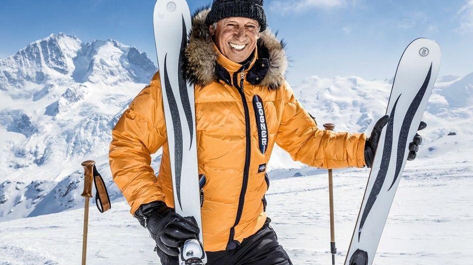 ABFAHRT Der Unternehmer und frühere Skirennfahrer Willy Bogner