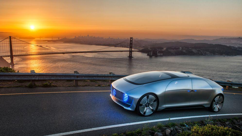 Automobile Visionen: Zukunft der Oberklasse