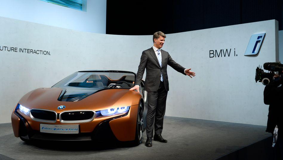 Harald Krüger: Der 2015 angetretene BMW-Chef knüpft an die Vorgaben Norbert Reithofers an