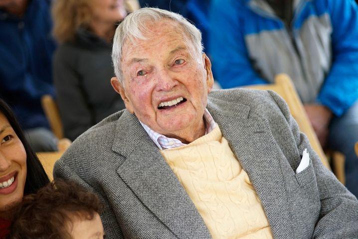 Ehemaliger Bankchef und Enkel von Öltycoon John Rockefeller: David Rockefeller Sr.