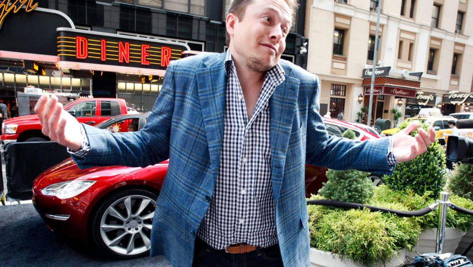 So what? Tesla-Chef Musk nimmt vieles auf die leichte Schulter - jetzt attackiert ihn die US-Börsenaufsicht SEC.
