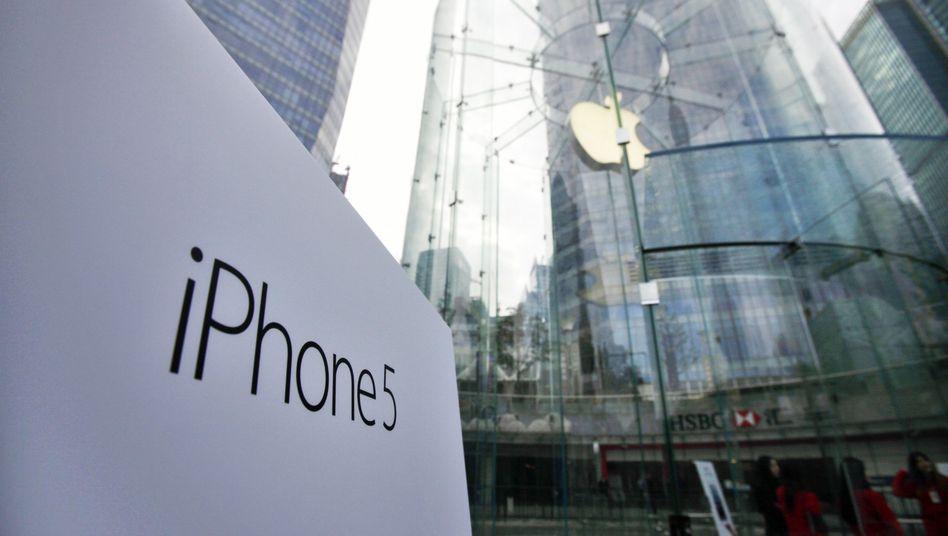 Apple Store in Shanghai: China Labor Watch wirft Konzern Billiglohn vor