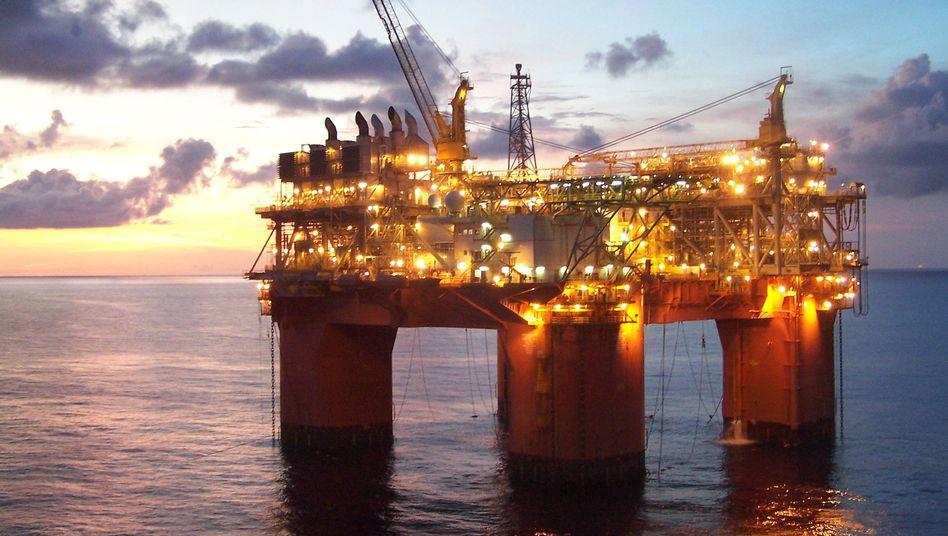 Ölplattform im Golf von Mexiko: Ein US-Gericht hat das Tiefseebohrverbot der US-Regierung vorerst gekippt