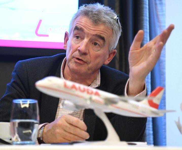 Haudrauf unter Bewährungsdruck: Ryanair-Zampano Michael O' Leary