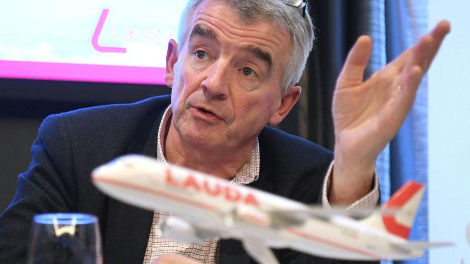 Ryanair-Chef Michael O'Leary warnt vor einem unermesslichen Schaden für die britische Tourismusindustrie