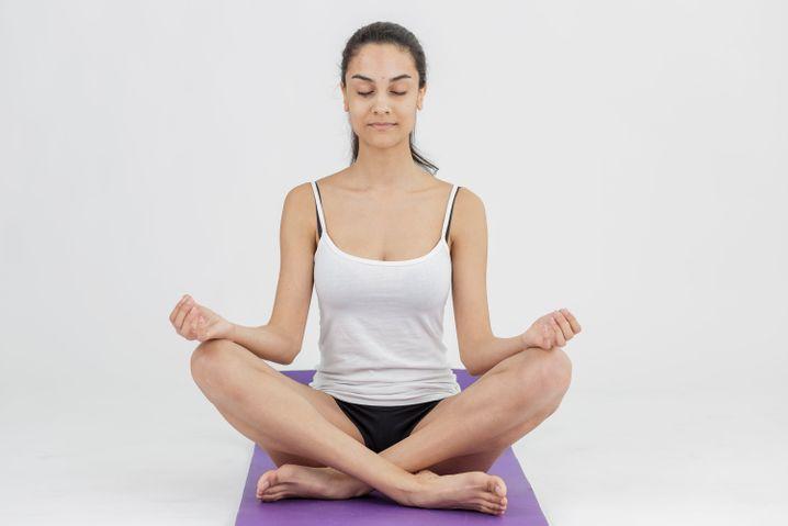 Ausbrechen aus negativen Gedankenspiralen: Meditation hilft, zur Ruhe zu kommen